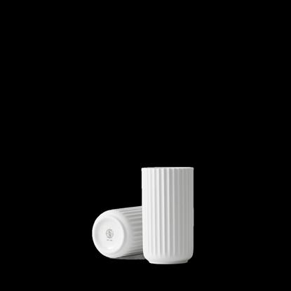 Billede af Lyngby Vase 15cm, glossy white