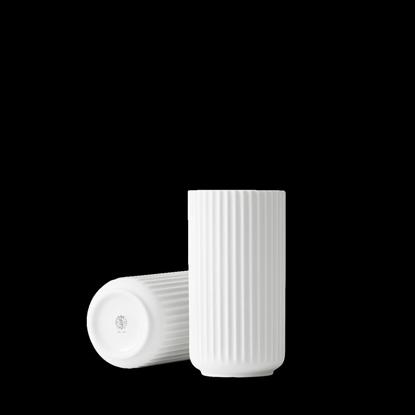 Billede af Lyngby Vase 20cm, glossy white