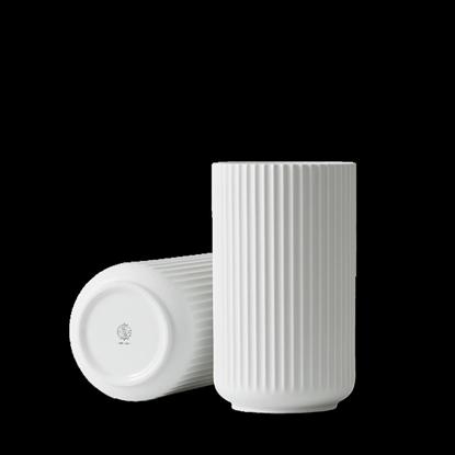 Billede af Lyngby Vase 25cm, glossy white