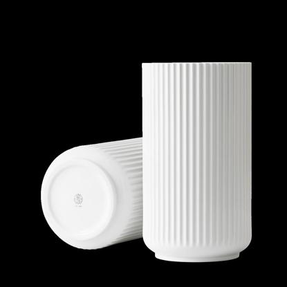 Billede af Lyngby Vase 31cm, glossy white