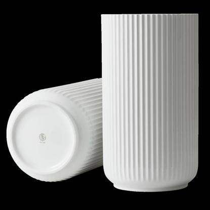 Billede af Lyngby Vase 38cm, glossy white