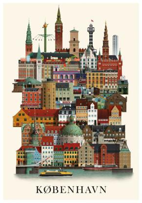 Billede af København, A3