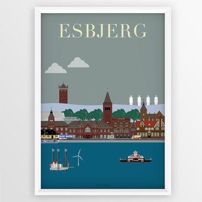 Billede af Esbjerg Plakaten