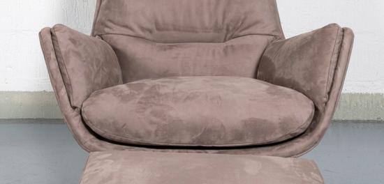 Billede af Lænestol og skammel fra Theca