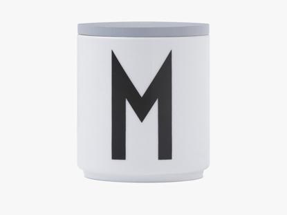 Billede af Wooden lid for porcelain cup - Grå