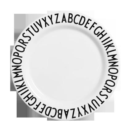 Billede af Large melamine plate