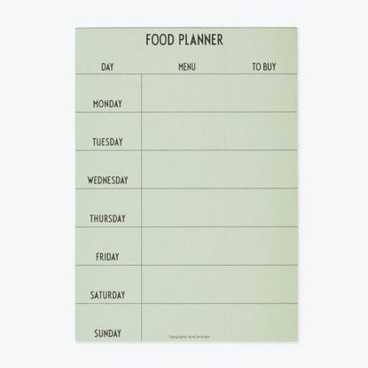 Billede af Weekly Food Planner