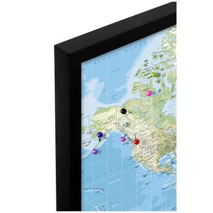 Billede af Pin Board - World Map - Classic