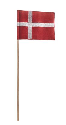 Billede af Kay Bojesen Tekstilflag til garder