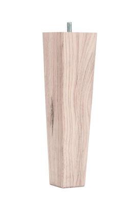 Billede af 4 stk koniske ubehandle egetræsben