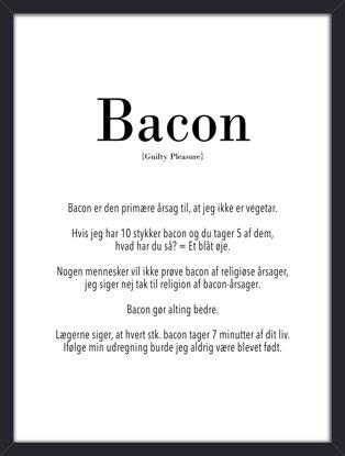 Billede af Bacon