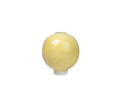 Billede af Unico vase H170 okkergul