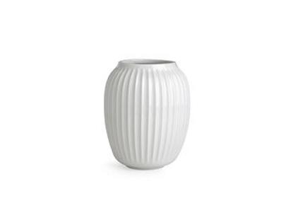 Billede af Hammershøi vase H200 hvid