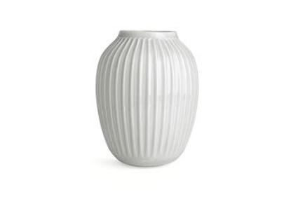 Billede af Hammershøi vase H250 hvid