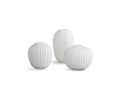 Billede af Hammershøi minivase 3-pak Hvid