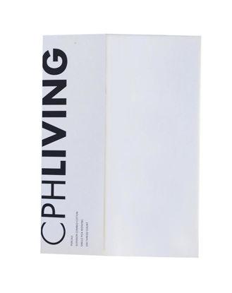 Billede af CPH Living lagen U-Split 180x200 hvid