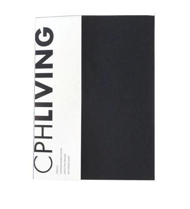 Billede af CPH Living lagen 90x200cm sort