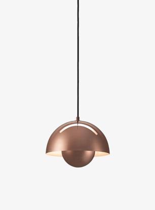 Billede af Flowerpot Pendant - VP1 - Polished Copper