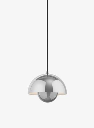 Billede af Flowerpot Pendant - VP1 - Polished Stainless Steel