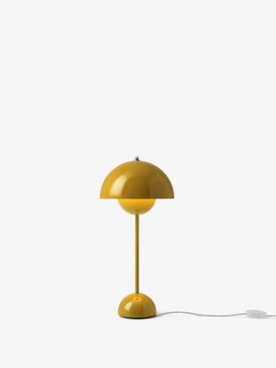 Billede af Flowerpot Table Lamp - VP3 - Mustard