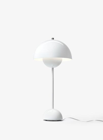Billede af Flowerpot Table Lamp - VP3 - White