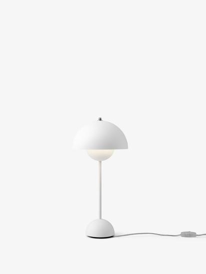 Billede af Flowerpot Table Lamp - VP3 - Mat hvid