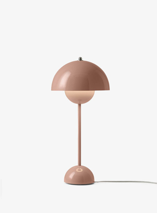 Billede af Flowerpot Table Lamp - VP3 - Beige red