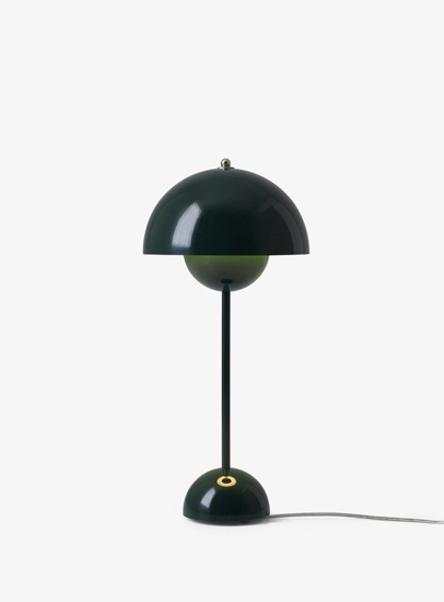 Billede af Flowerpot Table Lamp - VP3 - Dark Green