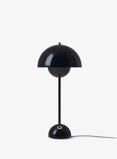 Billede af Flowerpot Table Lamp - VP3 - Black Blue