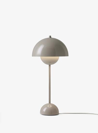 Billede af Flowerpot Table Lamp - VP3 - Grey Beige