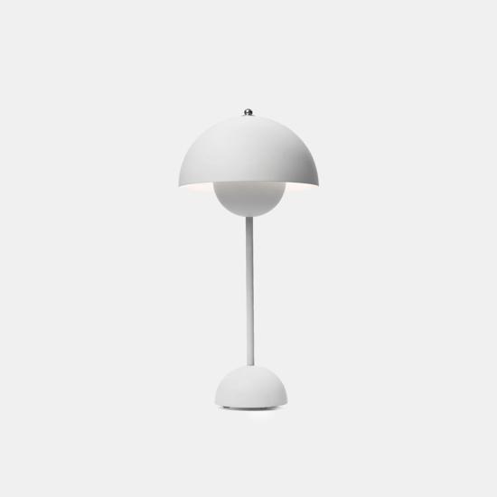 Billede af Flowerpot Table Lamp - VP3 - Matt Light Grey