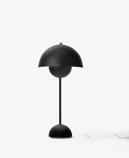 Billede af Flowerpot Table Lamp - VP3 - Mat Sort