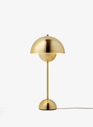 Billede af Flowerpot Table Lamp - VP3 - Polished Brass