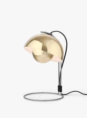 Billede af Flowerpot Table Lamp - VP4 - Polished Brass