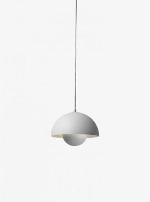Billede af Flowerpot Pendant - VP2 - Mat lys grå