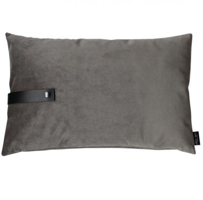 Billede af Velvet cushion grey 60x40