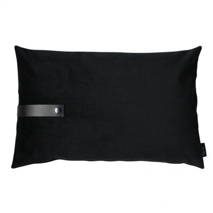 Billede af Velvet cushion black 60x40