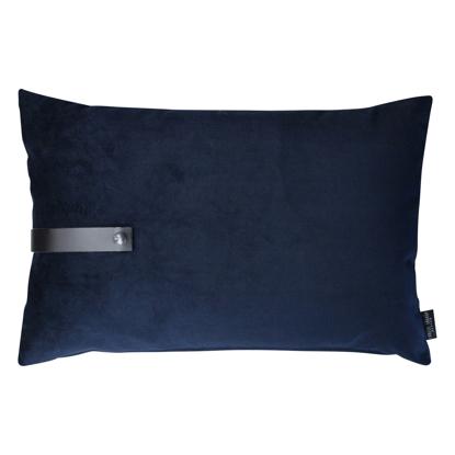 Billede af Velvet cushion blue 60x40