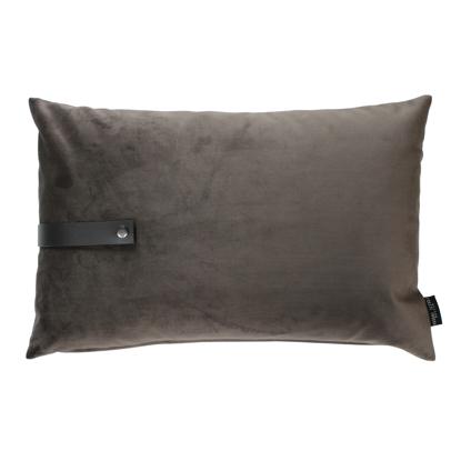 Billede af Velvet cushion taupe 60x40