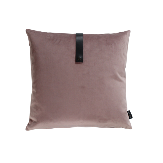Billede af Velvet cushion dusty rose 50x50