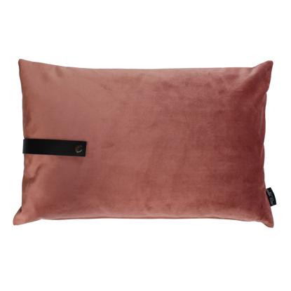 Billede af Velvet cushion peach 60x40
