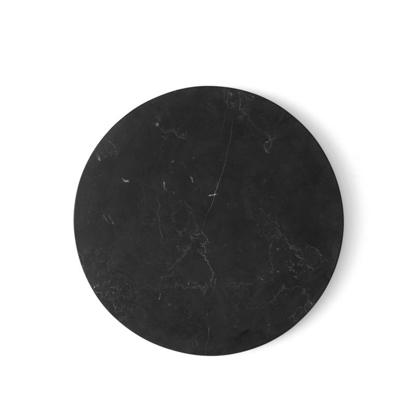 Billede af Wire Table Top, Marble, Black