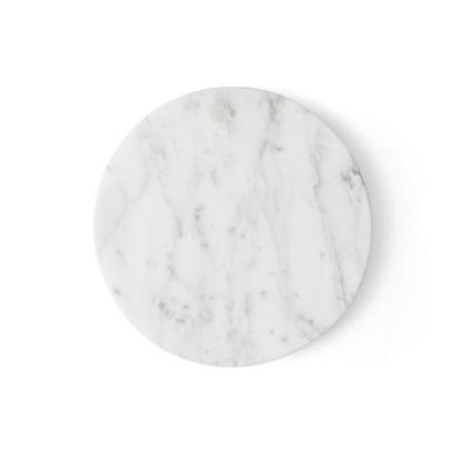 Billede af Wire Table Top, Marble, White