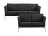 Billede af Rosenholm 3+2 pers. sofa i leman