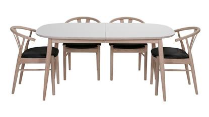 Billede af Haslev spisebord med laminat