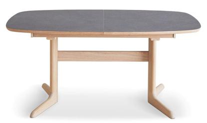 Billede af Skovby SM75 spisebord med stonelook plade