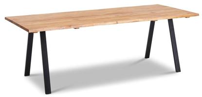 Billede af Blokhus olieret spisebord L240