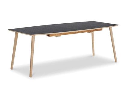 Billede af U-design bådformet spisebord