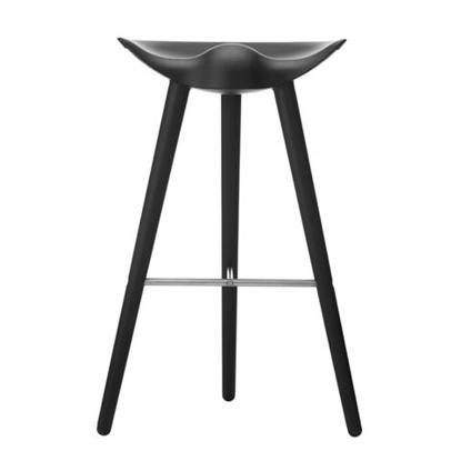 Billede af ML 42 bar stool sortbejdset bøg /stål