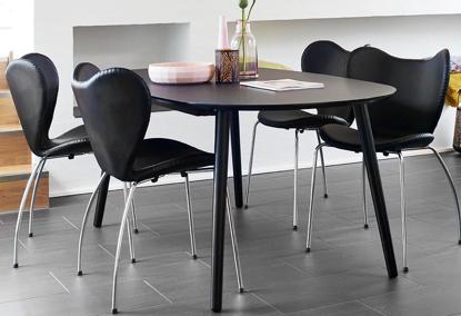Billede af 4 Butterfly spisebordsstole